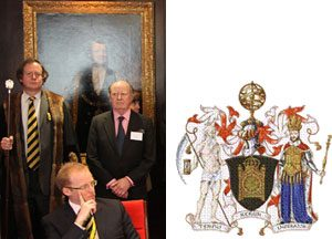 On the 12th April 2010, Ray was made a Freeman of the Worshipful Company of Clockmakers, in London.